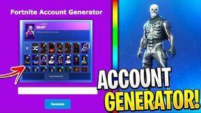 Easy Random Fortnite Account Generator
