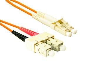 Multimode Duplex Sc To Lc Fiber Optic Cable Fiber Optic Duplex