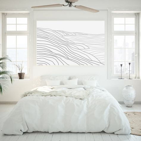 White Wall Bedroom, Coastal Master Bedroom, Airy Bedroom, Minimal Bedroom, Room Ideas Bedroom, Home Bedroom, Neutral Bedroom Decor, Beach House Bedroom, Modern White Bedrooms