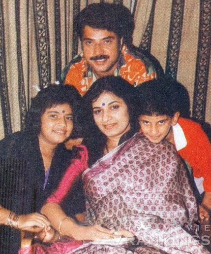 Mammootty Is A Family Man With Wife Sulfath And Daughter Rare Pictures