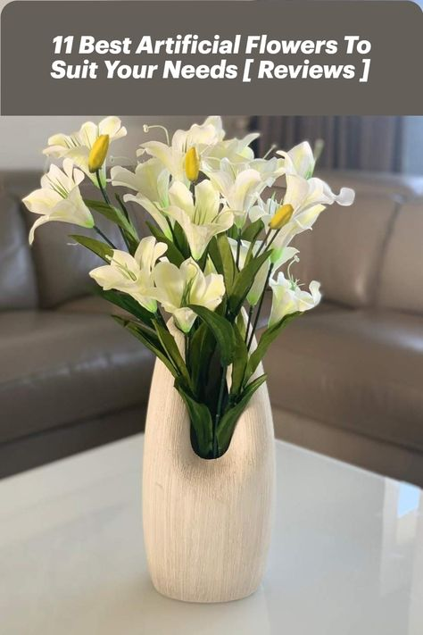 Artificial flowers are a dream of little maintenance. You may be a serial sneezer around certain blooms or you will have an overly zealous cat who will not stop babbling on your household. Perhaps you are planning an event and have a focus on outdoor varieties, or just don't have the greenest fingers to decorate your outdoor environment. Shop Now #HomeDecorLo #HomeDecor #HomeStore #Vase #ArtificialFlowers #ForHome