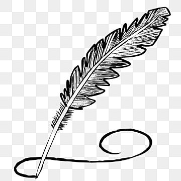 Hand Drawn Cartoon Feather Pen Black Handwriting Illustration Black Shadow Cartoon Png And Vector With Transparent Background For Free Download V 2020 G Chernyj Fon Abstraktnye Fony Multfilmy