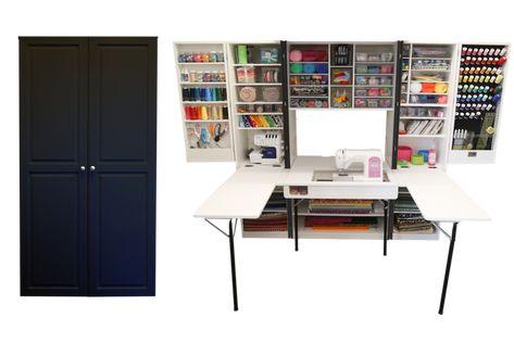 Ultimate Sewingbox Nahschrank Rangement Armoire Atelier
