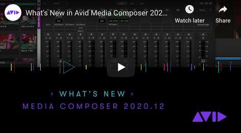 Avid Media Composer 2020.12 is Here!