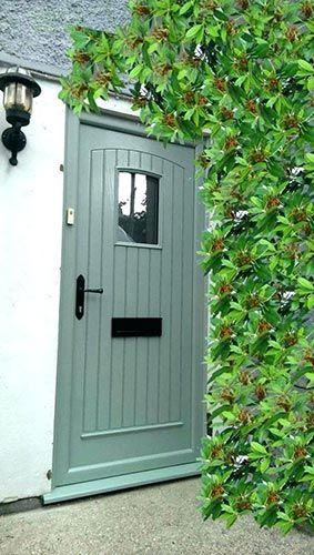 Composite External Doors Upvc Doors Northern Ireland Green Front Doors Cottage Front Doors External Doors