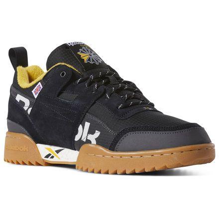 reebok classic black yellow 56