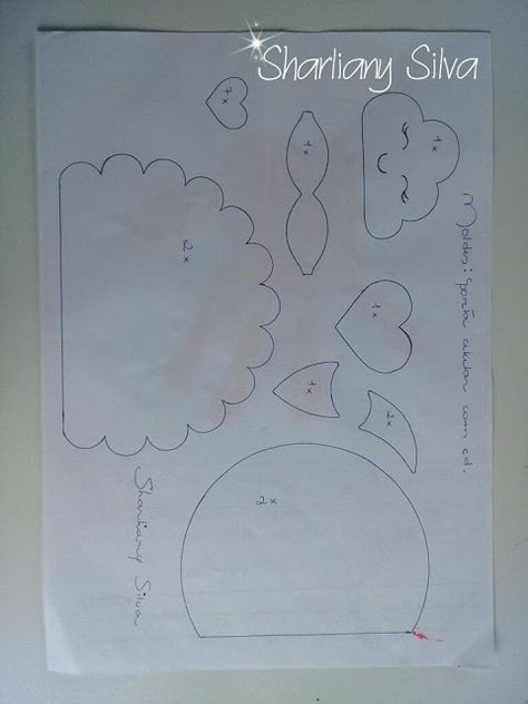 ARTE COM QUIANE Paps e Moldes de Artesanato : Novembro 2010