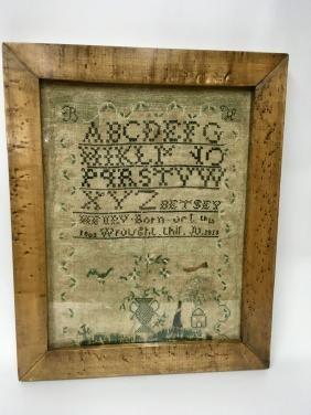 Betsey Henry Sampler Antique Samplers Betsey Samplers