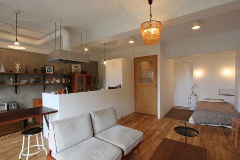 「広々とした居室と大きなウォークインクローゼット」というご希望通りにリノベーションしたこちらの ...