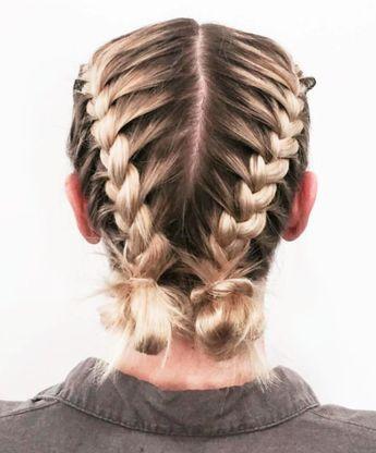30 Braid Hairstyles For Medium Hair Medium Hair Braids Medium Hair Styles Cool Braid Hairstyles