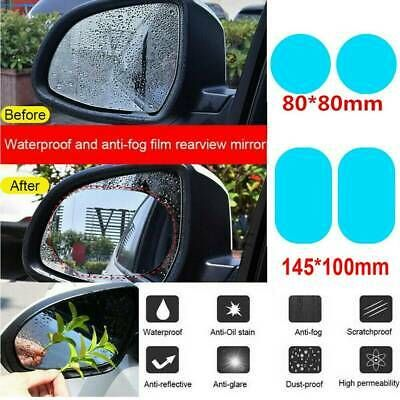 2pcs Car Rearview Mirror Sticker Rainproof Protective Film Anti Fog Rain Shield In 2020 Car Rear View Mirror Mirror Stickers Rear View Mirror