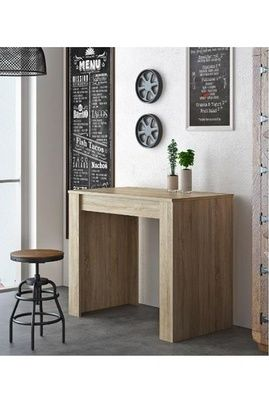 Home Innovation Table Console Extensible Rectangulaire