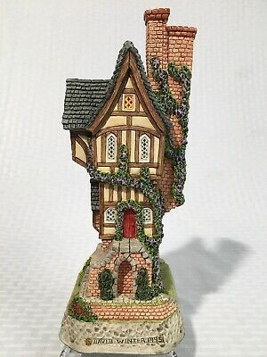 David Winter Cottages There Was A Narrow House 1995 Medieval English Village Ebay Narrow House English Village Cottage