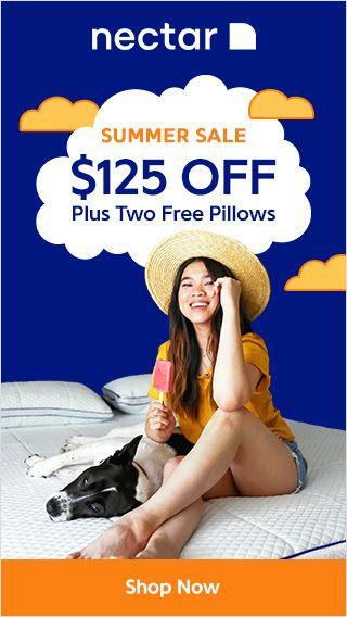 125 Off Nectar Sleep Mattress Coupon Two Premium Pillows Free