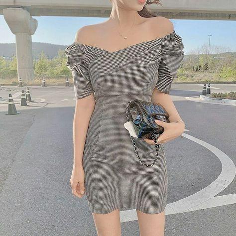Woman trendy outfit aesthetic style spring 2021 cute k-pop amazon tiktok school