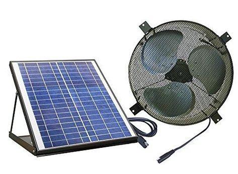 Nature Power 24208 Solar-Panels, Black - Black