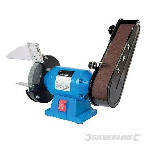 Awe Inspiring Silverline Bench Grinder Belt Sander 612519 240W Tools Short Links Chair Design For Home Short Linksinfo