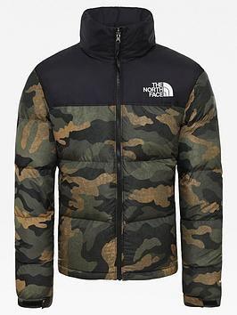 The North Face Nuptse 2 Jacket in Green | Ado