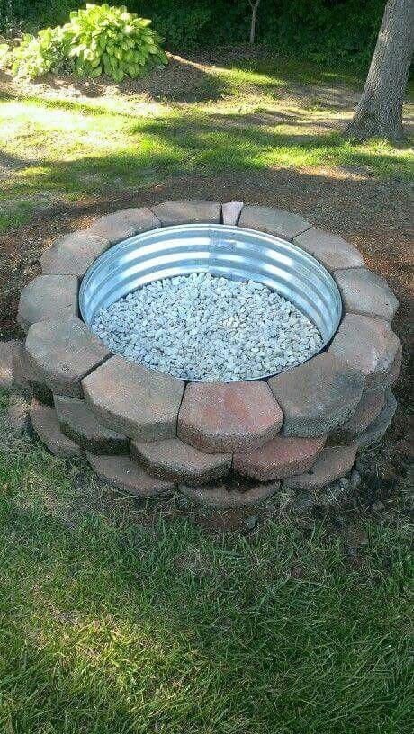 10 Captivating Fire Pit Bowl Ideas Landscaping Blocks Backyard