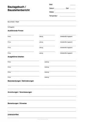 Vorlagen Tabellen Formulare Vordrucke Urkunden Formularbox De In 2020 Bautagebuch Tagebuch Vorlagen