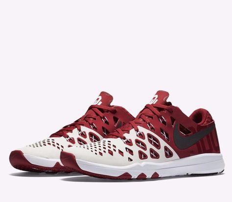 Nike Train Speed 4 AMP Oklahoma Sooners Mens Shoes Team