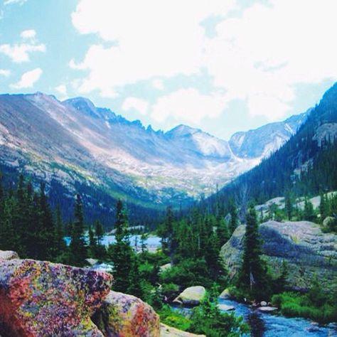Rocky Mountain National Park, Estes Park, Colorado. Photo courtesy of longitude_latitude on Instagram.