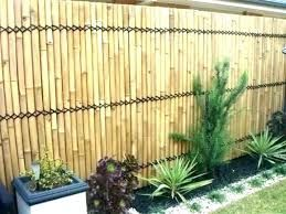 Attach Bamboo Panels To Colorbond Fence Google Search Bamboo