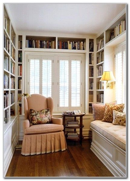 White Home Library For Small Room Design Ideas Image Cozy Home