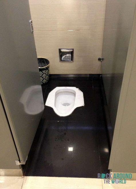 Hocktoilette Stehklo In Chengdu China Toilet Desain Toilet Desain Kamar Mandi Ide Kamar Mandi 1x1 minimalist bathroom squat toilet