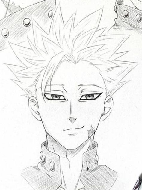 How To Draw The Seven Deadly Sins : seven, deadly, Drawings, Ideas, Drawings,, Seven, Deadly, Anime,, Deady