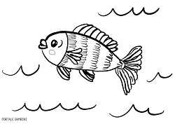 Immagini Di Pesci Da Colorare Per Bambini.Disegni Di Pesci Da Stampare E Colorare Gratis Portale