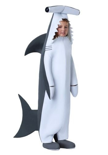 Boy/'s Girl/'s Shark Baby Shark Fancy Dress Costume Sea Mammal Jumpsuit Music Fun
