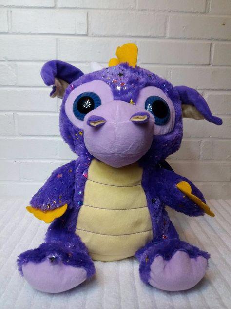Peek A Boo Toys Purple Dragon Stuffed Animal Plush 15 A29
