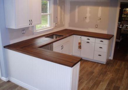 Wood Grain Laminate Countertop White Cabinets 46 Ideas For 2019 Wood Wood Countertops Kitchen White Laminate Countertops Diy Kitchen Countertops