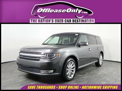 Ebay Advertisement 2019 Ford Flex Limited Off Lease Only 2019