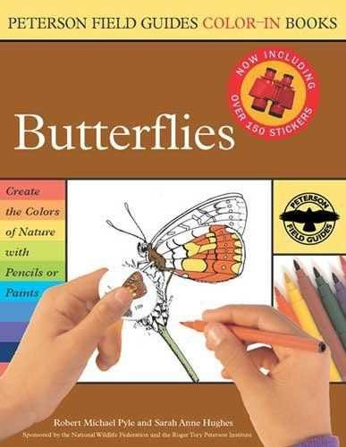 Peterson Field Guide coloring book