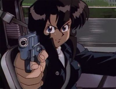 Gunsmith Cats Internet Movie Firearms Database Guns In Movies Tv And Video Games Black Cartoon Characters Black Anime Characters Anime Pixel Art