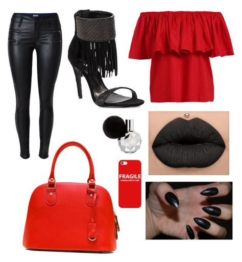 """""""Untitled #119"""" by southernsass12 on Polyvore featuring Schutz and Casetify"""
