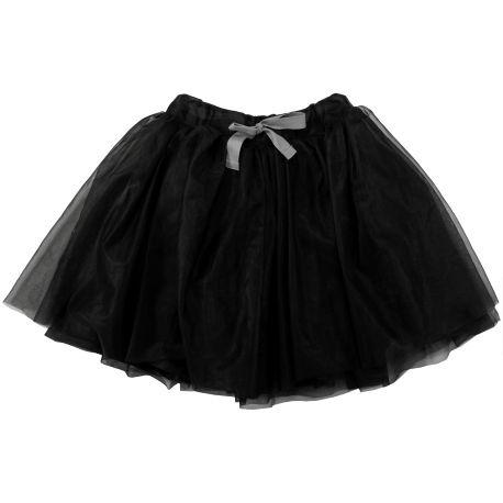 Czarna tiulówka dla małych dziewczynek to jest TO! Dostępna jest w 3 rozmiarach. Zobaczcie sami: http://projektbazar.pl/ho-ho-style-urszula-grzybek-ewa-wilkos-gladki-sc/dziewczynki/277-spodniczka-czarna-ho-ho-girl.html