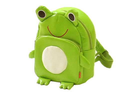 Gaorui Children Toddler Kid's Leather School Bag Animal Fruit Cartoon Backpack 14 Styles - Frog Pattern [May Be Of Interest] Little Backpacks, Animal Backpacks, Boys Backpacks, School Backpacks, Stylish Backpacks, Leather Backpacks, Leather Bags, School Bags For Kids, Kids Bags