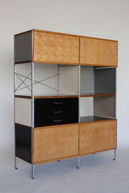 Eames Storage Unit Produced By Herman Miller 1950 52 C Vitra Design Museum Photo Thomas Dix