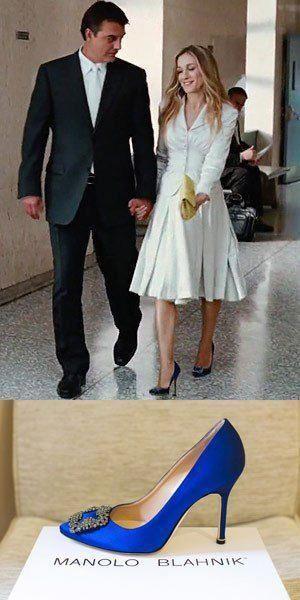 Manolo blahnik shoes carrie bradshaw
