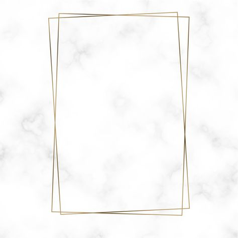 Download Golden Rectangle Frame Template Vector for free