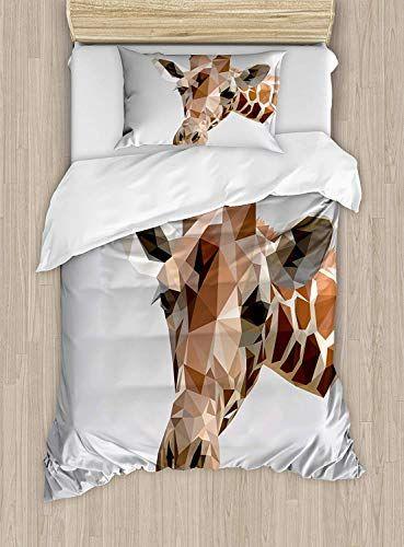 Big Buy Store Animal Duvet Cover African Safari Wildlife Creature