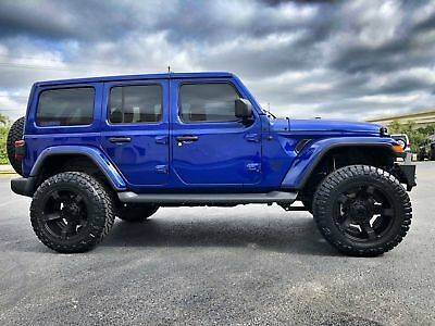 Ebay Advertisement 2018 Jeep All New Wrangler Unlimited Ocean