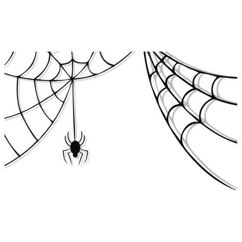 Pin By Regina Schumacher On My Style Spider Web Drawing Spider Web Halloween Graphics