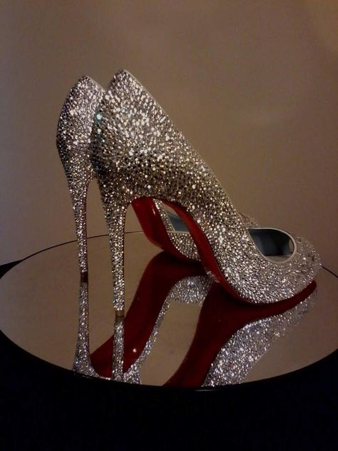 Unique Custom Wedding Shoes Shoe Strass Service Christian wedding shoes Items similar to Send In Your So Kate, Pigalle or Simiar Style Shoes for Custom Strassing, Strass Shoe Service, Louboutin Strass Shoes, Strass Shoes on Etsy Bling Wedding Shoes, Bling Shoes, Wedding Heels, Glitter Shoes, Prom Shoes, Bridal Shoes, Wedding Shoes Louboutin, Sparkly Heels, Christian Louboutin Shoes