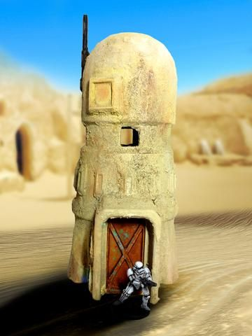 Star Wars Legion Cooling Tower By Corvus Games Terrain 3d Printed Wargaming Terrain Wargaming Terrain Star Wars Diy Star Wars