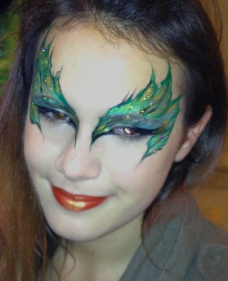 Eye Dare You - Adult Face Painting - Gallery 2 - Allison Powell