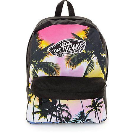 9ef8ae49634 Vans Realm Palm Photo Black & Multi Backpack ekkor: 2019 ...